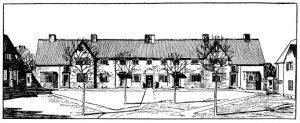 Gartenstadt England Unwin und Parker 1910