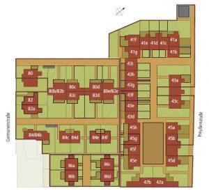 Preussensiedlung Hausnummernplan